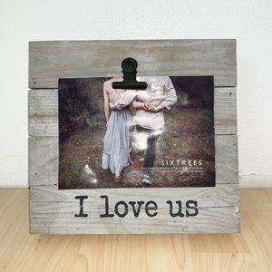 "Other - ""I Love Us"" Cute Farmhouse Photo Frame"